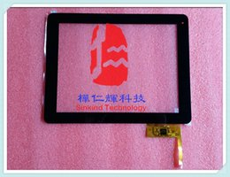 "Wholesale Dpt Digitizer - 9.7"" Touch screen DPT 300-L4567K-B00 12pins touch panel digitizer glass Replacement for 9.7inch Android Tablet"