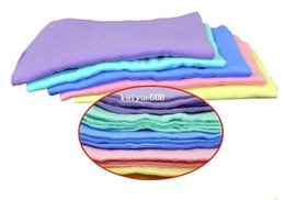 Wholesale Leather Chamois Cloth - 3PCS Free Shipping Car Dry Washing Cloth Wipe Cleaning Towel Synthetic Chamois Leather Absorber