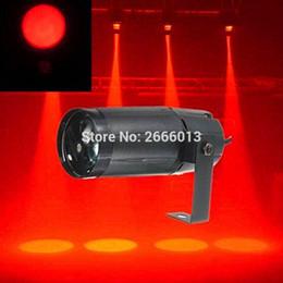 máquina de chama dmx Desconto American DJ LED Pinspot cor vermelha 3W Mirrorball efeito de luz / luzes de natal / KTV iluminação de discoteca
