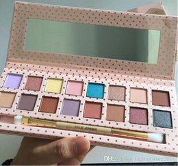 Wholesale Natural Eye Drops - Kylie Jenner Take Me On Vacation Eyeshadow Palettes Kylie Cosmetics 16 Colors Pressed Powder Eye shadow Palette With Brush Drop shipping