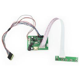 Lvds tft lcd controlador online-Universal HDMI LVDS Módulo LCD Tarjeta de Controlador LCD Kit de Monitor para Raspberry PI 2 LCD Panel de Pantalla LED TFT LCD