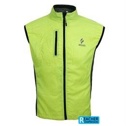 Wholesale Waterproof Mens Vest - Wholesale-mens cycling bike bicycle sportswear jacket vest jersey Clothing Windcoat Breathable Bike vest.Windcoat waterproof