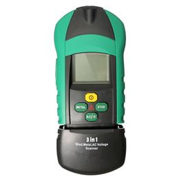 Wholesale Digital Multi Gauge - MS6906 3 in 1 Multi-function Stud Metal AC Voltage Scanner Detector Tester Thickness Gauge w  NCV Test order<$18no track