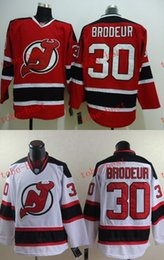 Wholesale Brodeur Jersey Xl - Devils 30 martin brodeur Cheap Hockey Jerseys ICE Winter mens women kids Stitched Jersey Free shipping