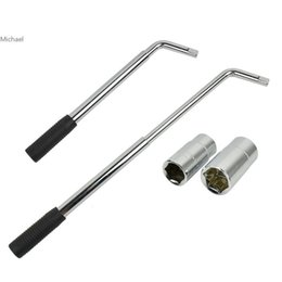 Wholesale Flexible Wrench - New 2 in 1 Flexible Retractable Auto Car Tire Change L-typed Wrench 35