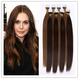 """Wholesale Cheap Hair Glue - cheap Glue Skin Weft 18-28"""" Tape in Hair Extensions 2015 Hot Pu Skin Weft 2.5G Piece 40Pcs Pack 300G STOCK Free Shipping"""