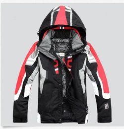 Wholesale Snowboard Jacket Down - 2017 sell like hot cakes new Vogue Men's Hiking Jacket Waterproof Ski Snow Spider Coat Suit Snowboard