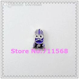 Wholesale Evil Minions - Wholesale-Purple Minion Floating Charm Evil Despicable Me Locket Charm For Glass Floating Locket Accessories