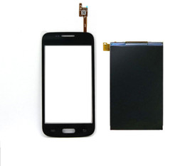 Wholesale Touch Screen Glass Repair - Wholesale-For Samsung Galaxy Core Plus SM-G350 G350 Touch Screen Glass Sensor + LCD Display Panel Screen Monitor Repair Replacement
