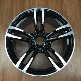"Wholesale 18 Inch Alloy Wheels - 18"" Black Rims 5X120 For Bmw M3 M4 3 5 Series X3 4 5 Black Bmw Wheels Set of 4"