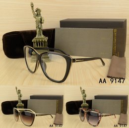 Wholesale Frame Sizes Glasses - Top Summer Design Big frame Metal hemming Fashion men woman Sunglasses with origianal box case eyeglasses Classic Big size sun glasses UV400