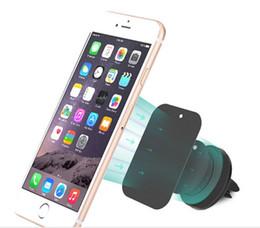 универсальный магнитный держатель мобильного телефона Универсальный мобильный телефон держатель автомобиля вентиляционное отверстие кронштейн для samsung S7 S7 edge для I phone 6s от Поставщики i phone mounts