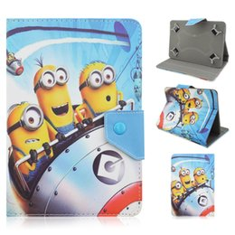 Wholesale Despicable Flip Case - minion case for ipad mini Despicable Me 2 Flip PU Leather Case Minions Cover For Apple iPad mini ipad air ipad 2\3\4 Minion case