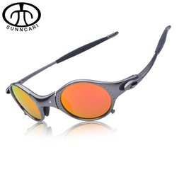 Wholesale Original Cycling Glasses - Wholesale-Original Aolly Juliet Cycling Glasses X Metal Riding Sunglasses Romeo Men Polarized Goggles Oculos Brand Designer CP001-4