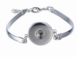 Wholesale Models Snaps - Noosa Metal Snap Button Charm Bracelet Bangle Interchangeable Jewelry Ginger Snaps Jewelry Lobster Clasp Bracelet Assorted Models