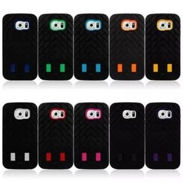 Wholesale Galaxy S3 Robot Cases - 3 in 1 Robot Hybrid Armor Shockproof plastic+ Silicone Case Cover for iphone 4 4S 5 5S 5C 6 6+ plus 5.5 Samsung Galaxy S3 S4 S5 S6 Note3 4