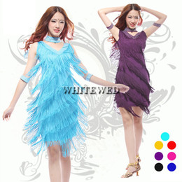 Wholesale Jazz Costumes For Girls - Women's plus size fashion jazz flapper girl inspired style dresses costumes clothing outfit beaded black for sale 1X 2X 3X