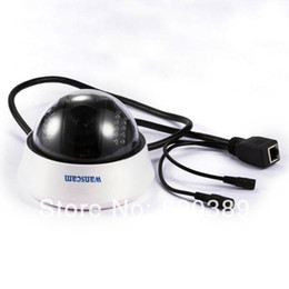 Cctv cámara de visión nocturna cúpula online-Mini Wireless Wifi IR Night Vision Dome Cámara IP para interiores Cámara CCTV AJ-C0WA-C128 Envío gratis