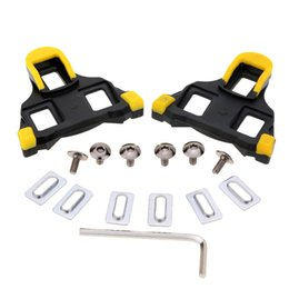 Wholesale Spd Pedal Self Lock - 1 Pair Self-locking Cycling Pedal Cleat for SPD-SL Bicycle Pedal Road Cycling Shoes Bicycle Cleat Professional Bike Accessory