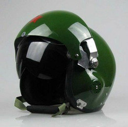 Wholesale Open Helmet Jet - Durable AIR FORCE JET PILOT FLIGHT HELMET Electric Cars Motorcycle Women Men Helmet Various Colors To Choose