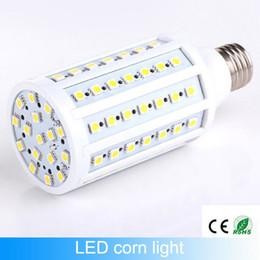 Wholesale Cree Chip Led Bulbs - Free shiping e27 led corn Lamp bulbs 17W led chips 86leds e14 light bulb Smd5050 110v 220v-240v360 Angle warranty 2 year