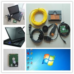 Wholesale Diagnostic Bmw Tools Isis - ista for bmw scanner for bwm icom a2 b c diagnostic tool with laptop x200t+software 500gb hdd isis isid ready to use