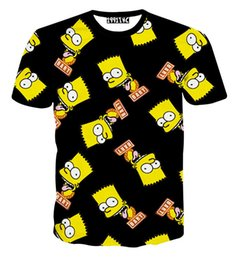 Wholesale Dropshipping Underwear Men - Camiseta blusas dropshipping Simpson funny cartoon t shirt men women summer style underwear women cotton casual shirt top tees