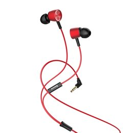 Wholesale Mobile Fone - Baseus H07 Wired Earphone Hi-Res Audio Bass soud Earphones Headset Earbud fone de ouvido auriculares with Mic for Mobile phone