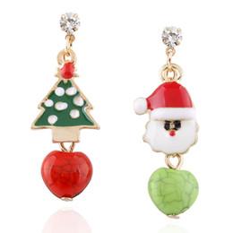 Wholesale Lipstick Earrings - Europe and the United States trend of fruit, lipstick asymmetry, long earrings, love Stud Earrings