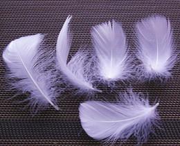Wholesale Wholesale Goose Down Feathers - Custom Color White Goose Feathers Goose Down For Jewelry Apparel Decor Diy Feather 500pcs 5-10cm