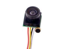 Wholesale Mini Camera Color Audio - Minimal HD Mini Camera Pinhole 600TVL 5MP 170 wide angle CCTV Color Camera CMOS Hidden Covert Cam Home Security Camera Audio