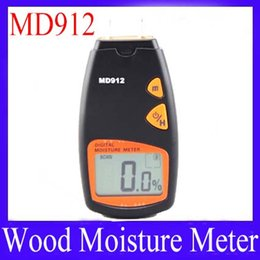 Wholesale Wholesale Timber Wood - Digital Timber Wood Moisture Meter MD912 Range: 2%~60% 5pcs lot free shipping