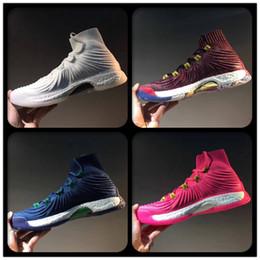 Wholesale Crazy Brown - 2018 Crazy Explosive Boost PE Pink Men Basketball Shoes Trace Khaki Andrew Wiggins AW Primeknit Multicolor Vegas Sports Basketball Shoes