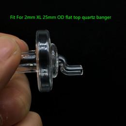 Canada Beracky New Glass Carb Cap Épaisseur de verre 35mm OD pour XL Flat Top Quartz Banger Nails Quartz Thermal Banger Bongs Rigs de pétrole Offre