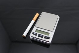 Wholesale Portable Shipping Scale - Wholesale-Free Shipping 500G 0.1g Small Rectangel Portable Measure Instruction Scale Digital Electronic Weighing Scale