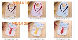 Wholesale Different Baby Dresses - 33x20cm Cotton Cartoon Dress Theme Bibs Baby Soft Bib Double Button Waterproof Neonatal Items Different Designs Free Ship HKJ14