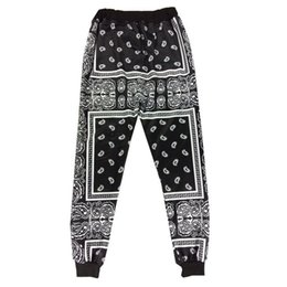 Wholesale Boys Hip Hop Pants - Harajuku KTZ Pants Men Vintage Boys Jogger Pant Brand 2016 Streetwear Hipster Sport Trousers Men Women Hip Hop Harem Sweatpants