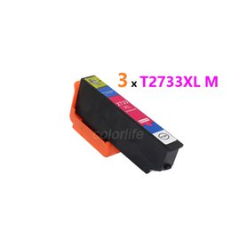 Wholesale Epson Cartridge Chips - On sale,high quality compatible t2733xl magenta ink cartridge with OEM-level print performance,chipped and with dye ink