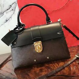 Wholesale Purse Handles Leather - ONE HANDLE women shoulder bags famous brand Epi leather handbags luxury designer crossbody bag high quality female TWIST purse fashion