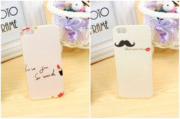 Wholesale Iphone 5s Pictures - Hot Art Picture Case Plastic Cover For iPhone 5 5S iPhone6 Plus pinting case 30pcs lot Free Shipping