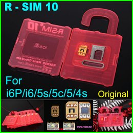 Wholesale New Cdma Mobiles - New R SIM 10 RSIM 10 R-SIM 10 r sim10 Unlock Card Perfect unlock iphone 6 plus 6 5s 5 4s ios 7.X-IOS8.x AT&T T-mobile Sprint WCDMA GSM CDMA
