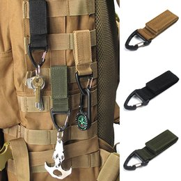 Wholesale Ring Nylon - Outdoor Tactics Nylon Webbing Backpack Buckle Single Point Triangular Buckles Multi-functional Mountaineering Climbing Buckle D-type Ring