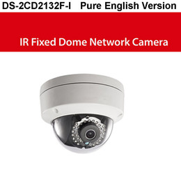 Wholesale Indoor Dome Camera Audio - Full English Firmware HIK DS-2CD2132F-IS,3MP CCTV camera Fixed IR Dome, 3DNR,D-WDR, IP66, alarm audio i o security camera
