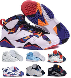 Wholesale Shoes Us14 - Hot2016 Retro 7 Basketball Shoes Women Men Sneakers Retros Shoes 7s VII Authentic Replica Zapatos Mujer Free Delivery
