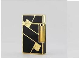 STD upont briquet acheté cuivre complet dis la laque chinoise et dorée diagonale fortune 16886 ? partir de fabricateur