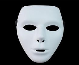 Top Quality New Horror Das Mulheres Dos Homens do Dia Das Bruxas Máscara Facial Ghost Dance Passo HIP-HOP Jabbawockeez Máscara de