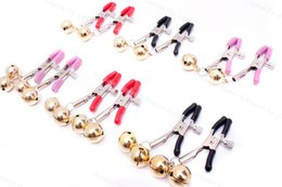 Wholesale Women Nipple Toys Sale - 3 Pairs Nipple Clover Clamps Clips Bondage Gear Torture Slave Trainer Adult Games Fetish Play Sex Toys For Women Couples sale