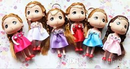 Wholesale 12cm Baby Dolls - New 1piece set So Cute 12cm tall Confused doll Mini Pendant toys Ddung doll Sylvanian Families favor gifts for baby toys