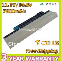 Wholesale Aspire One 722 Battery - Durable- White 9 Cell Laptop Battery for Acer Aspire One 522 722 AO522 AOD255 AOD257 AOD260 D255 D257 D260 D270 AC700 AL10B31