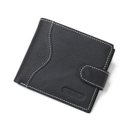 Wholesale korean brand bags sale - Hot Sale New Casual Business Brands Vintage Men's Leather Wallets High Quality With Coin Bag Design Credit Card Holders Men's Wallets